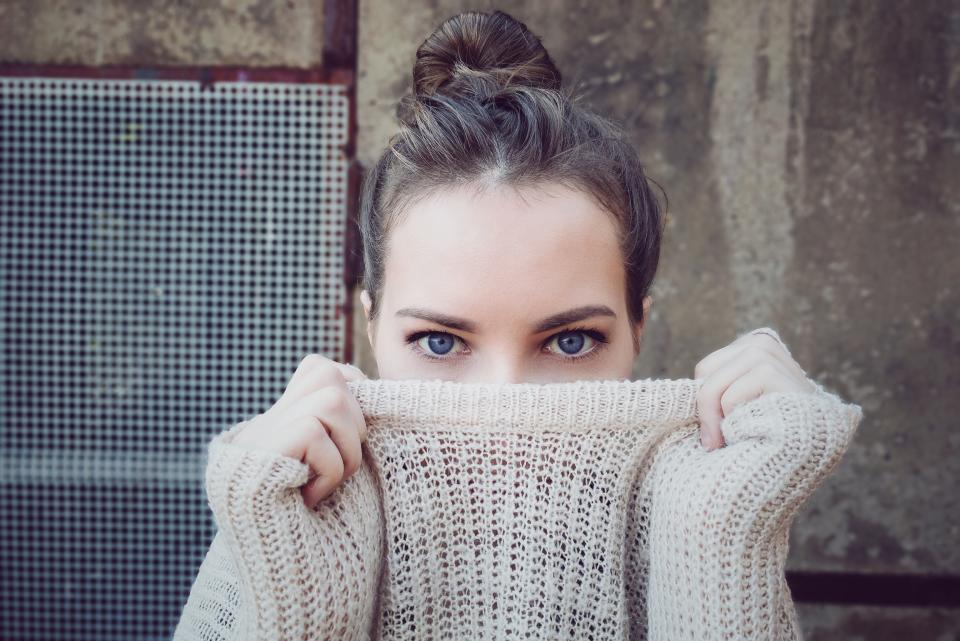 people woman girl clothing eye face