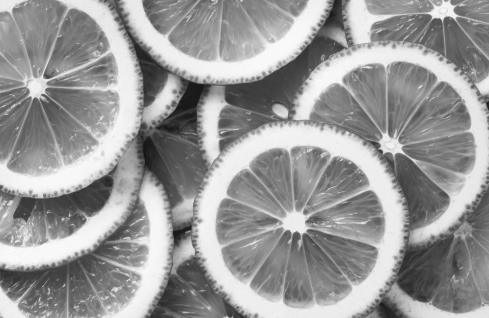 fresh sliced lemon background acid black and white citric citrus close up cut detox food fresh fruit fruit grayscale half health healthy ingredient juicy lemon slice natural macro nature nutrition organic raw ripe