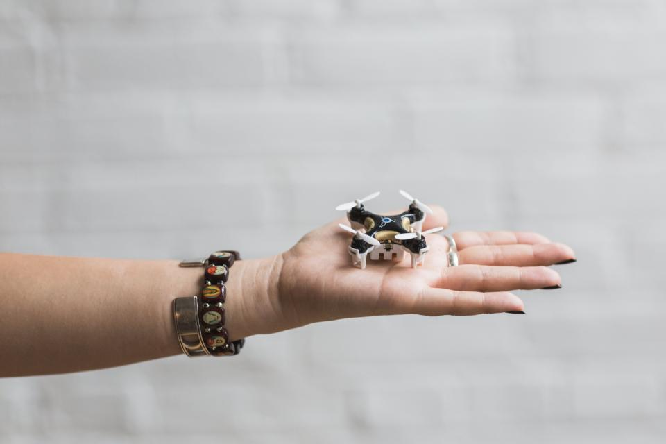 hand palm arm bracelet fashion accessorry tiny small drone