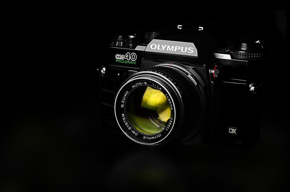 olympus lens black camera photography