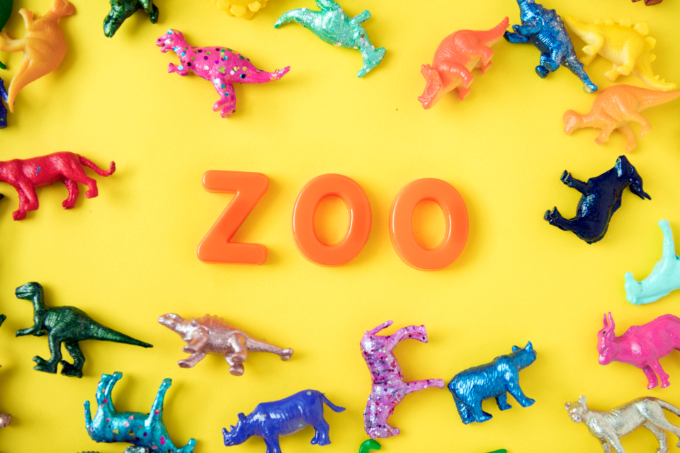 animals assorted children closeup collection color colorful dinosaur diverse elephant entertainment extinct figure figurine fun happy hippo hippopotamus horse isolated jungle jurassic kids lion m