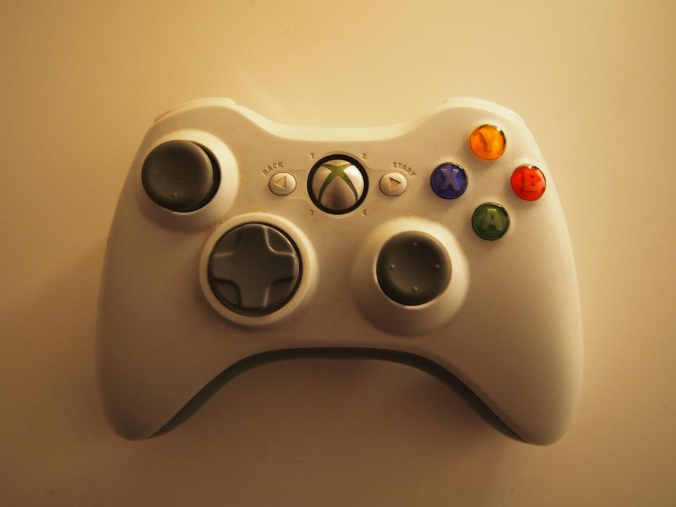 xbox controller video games fun entertainment objects