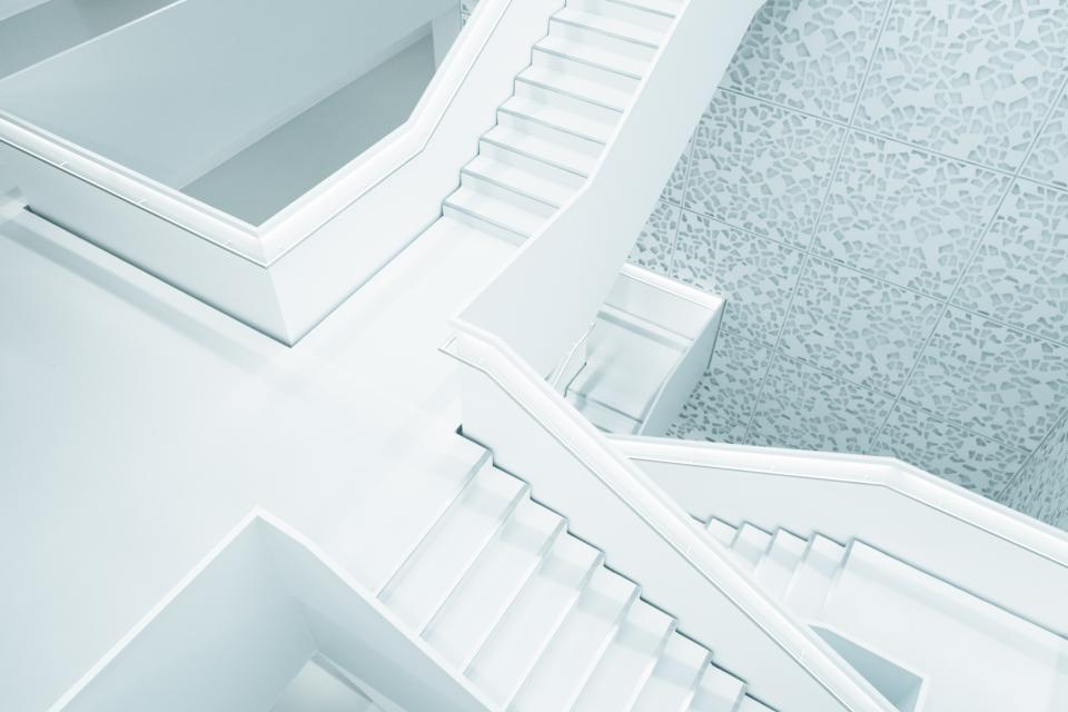 architecture white building infrastructure stairs stairway