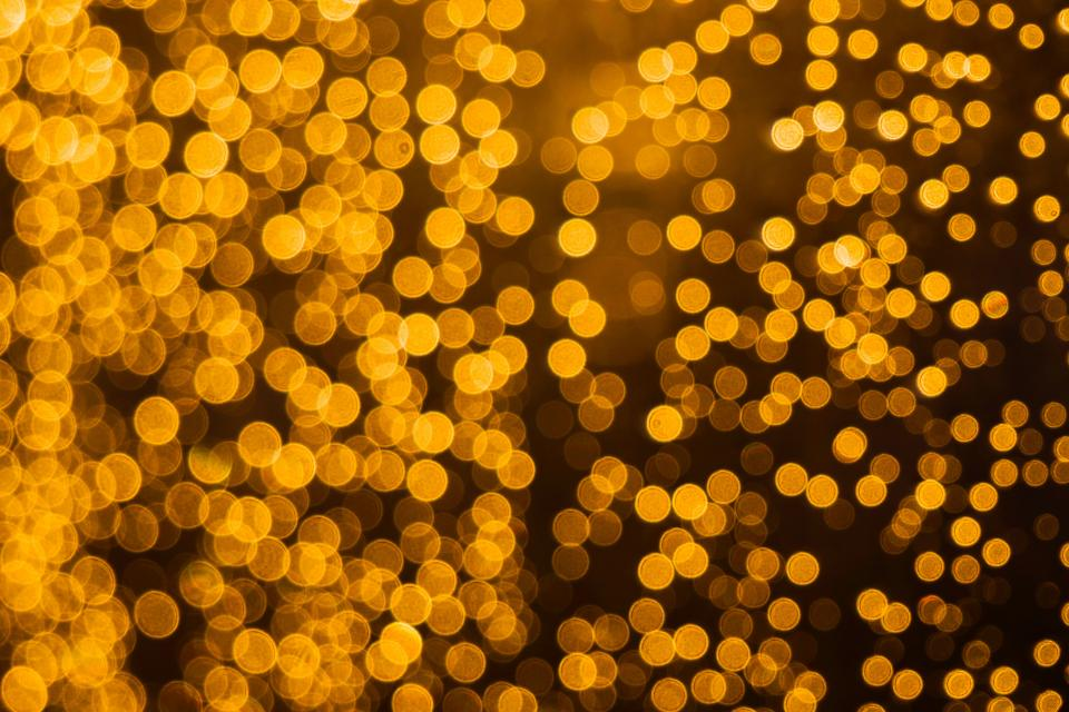 light bokeh night