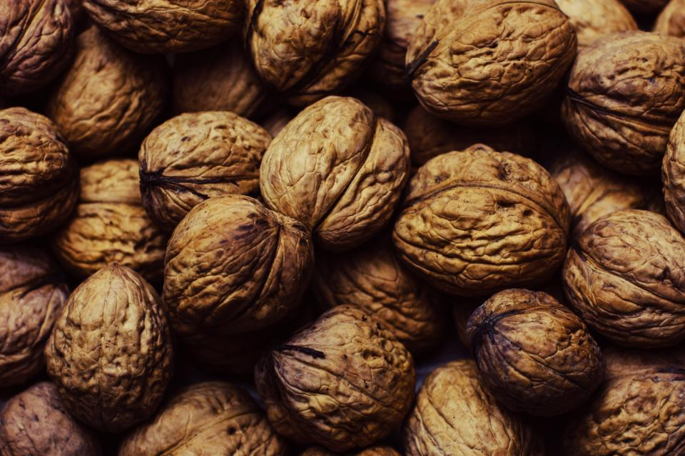 walnuts nuts food