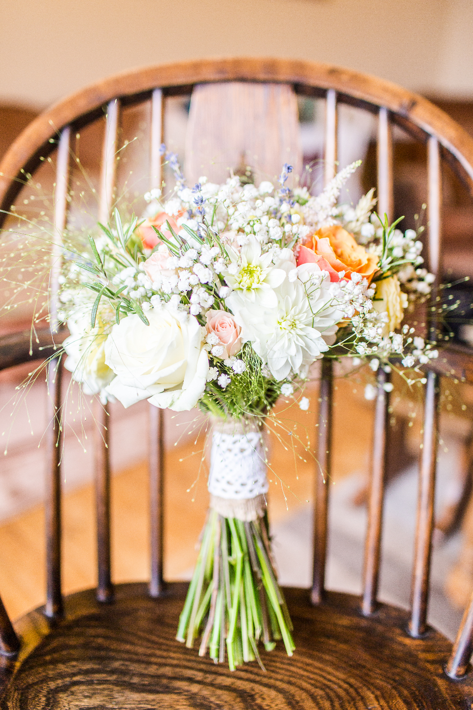 wedding flowers bouquet rustic wedding chair celebration nature bunch flora fauna