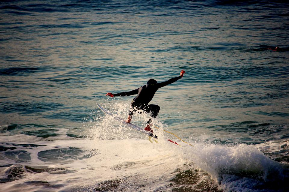 people guy surfing sport board waves splash water sea ocean nature