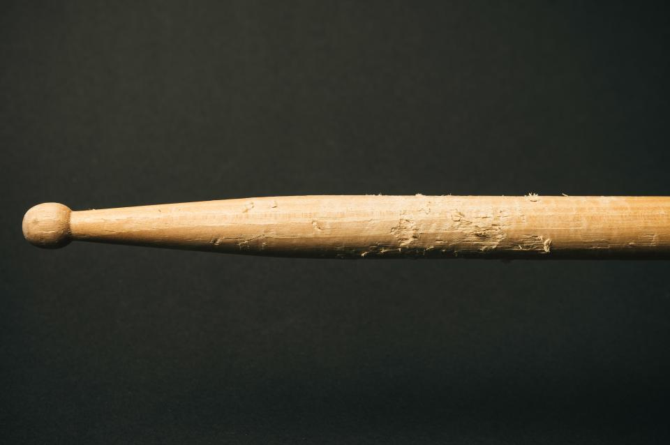 dark wood drum stick