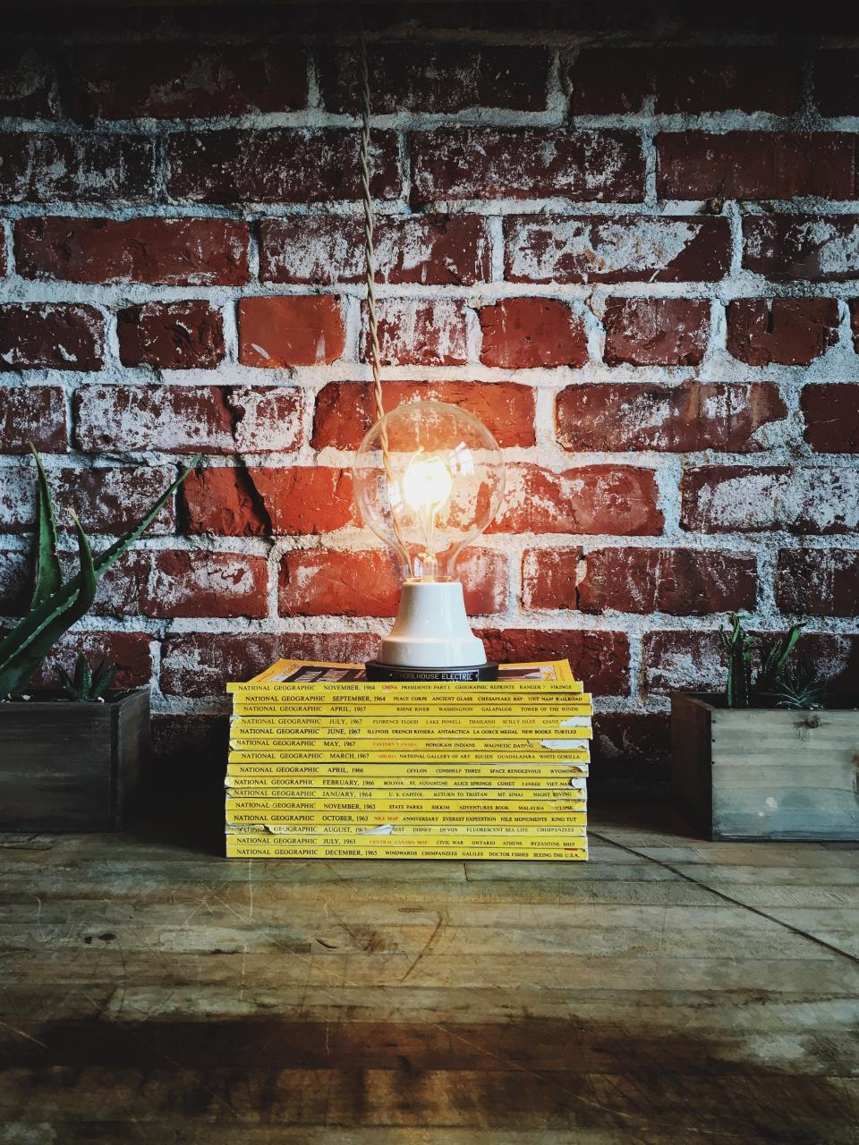 bulb idea bricks red lightbulb electricity electric power national geographic light read study