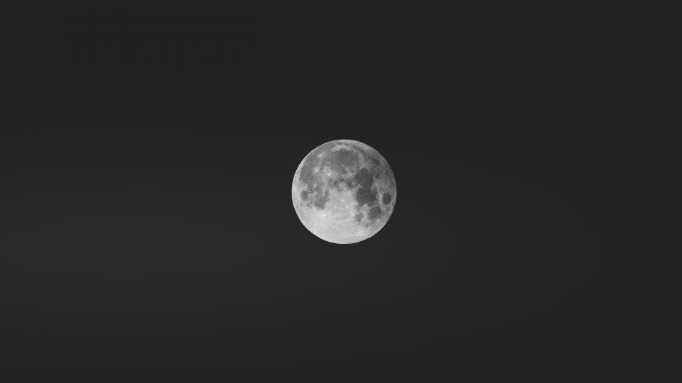 moon dark night photography space