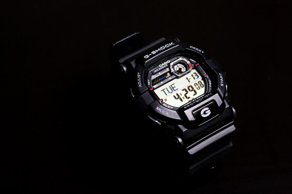 technology gadgets watch g-shock digital