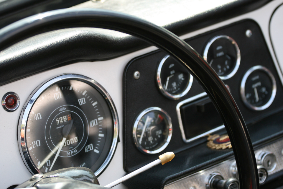 car dashboard interior fast car steering wheel gauges automotive automobile classic retro vintage rpm auto transportation driving