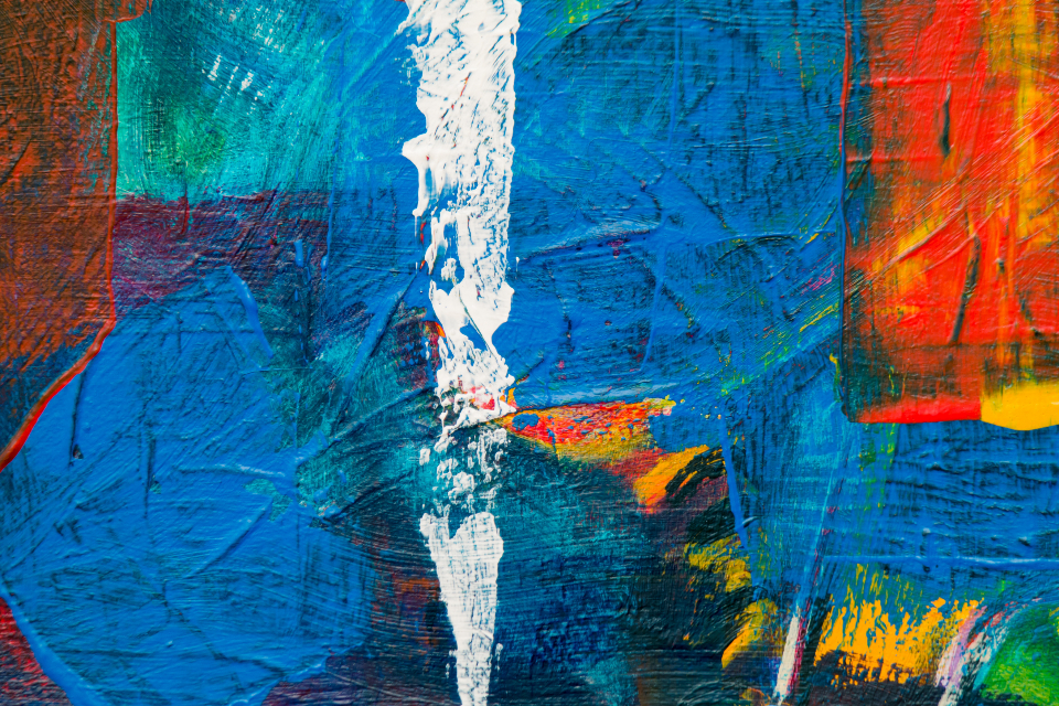abstract art painting canvas texture close up acrylic creative design colorful graphic wallpaper