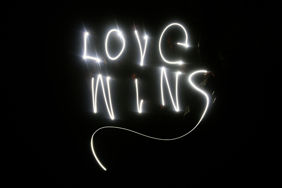 love neon light long exposure photography night dark black glow writing typography design art