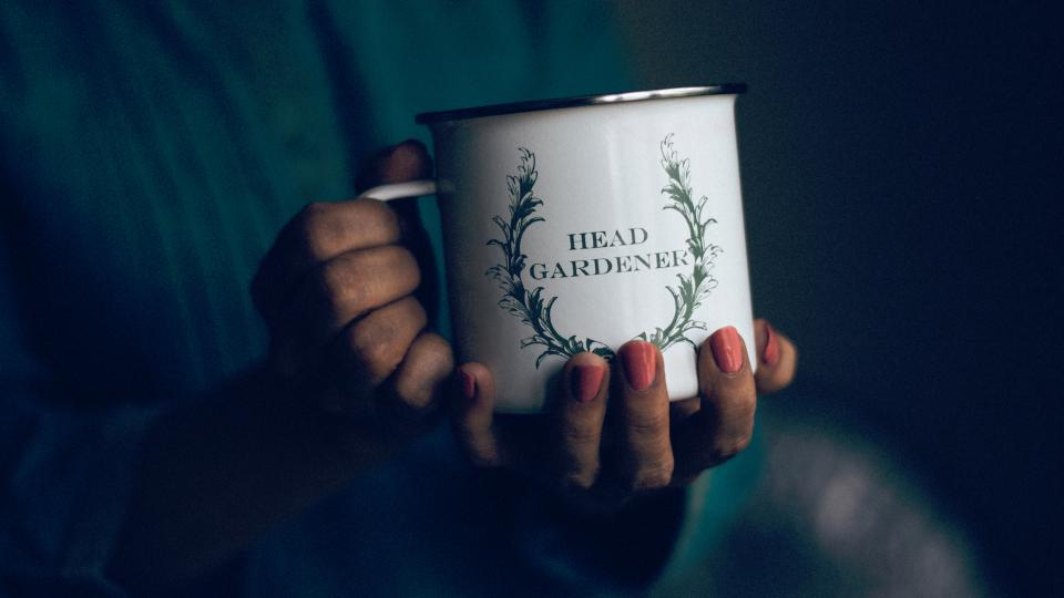 mug people nails woman hands lady
