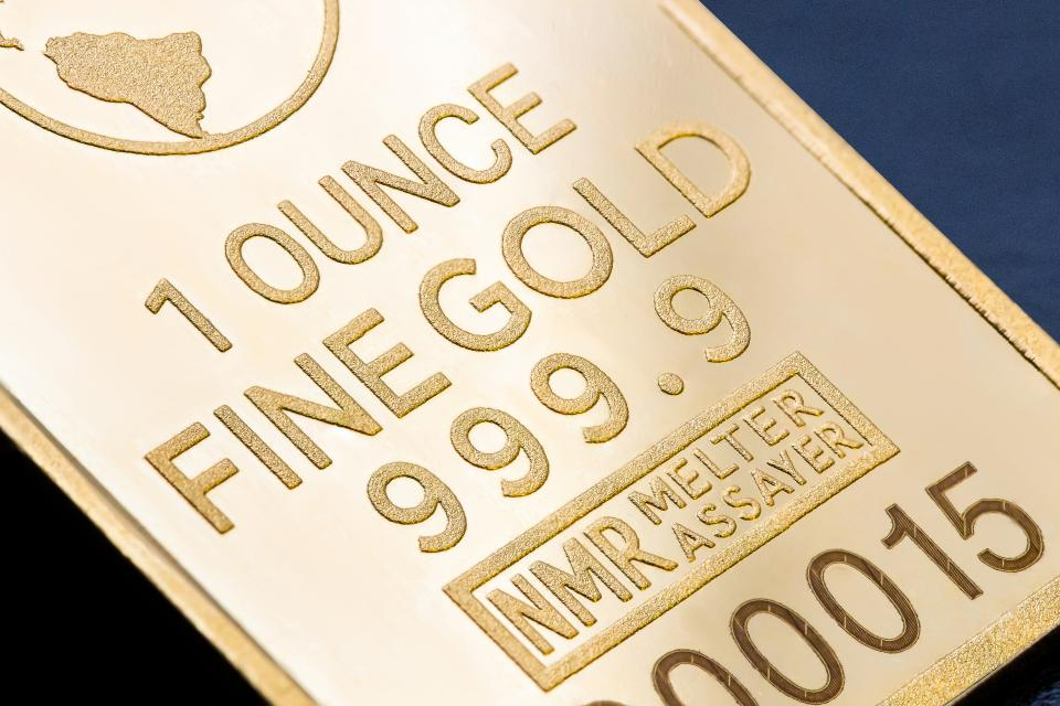 gold ounce number
