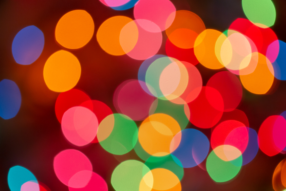 bokeh colorful lights wallpaper background abstract creative design effects glow blurred focus