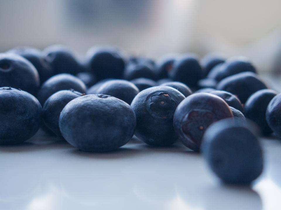 blueberries fruits healthy food