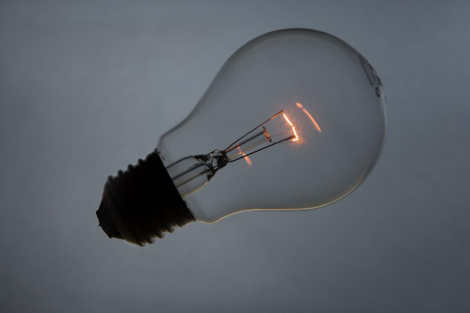 light bulb electricity lamp