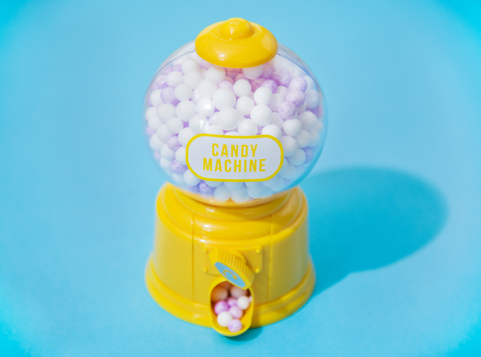 balls bright candy chewing gum children close up close-up colorful decoration foam glossy gum joyful machine painted passion pastel pink playful pop rewind scrolling stuffing sweets tiny tiny foam balls toy wal blue