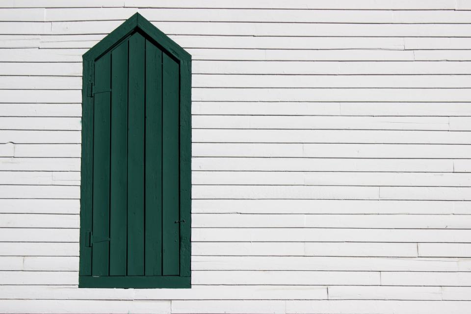 door green symmetry wall architecture art design white house home