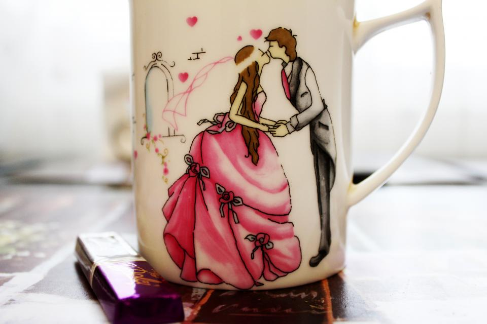 Princess cup mug love romance