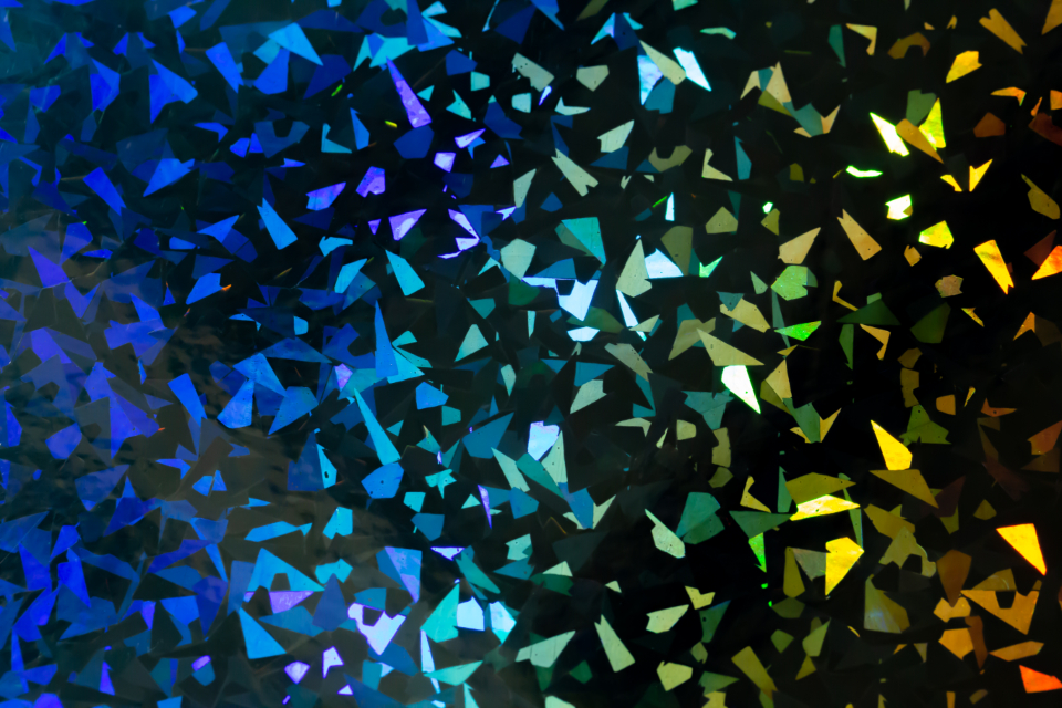 colorful wallpaper background design effects glow focus rgb selective abstract geometric shapes shiny texture creative glitter