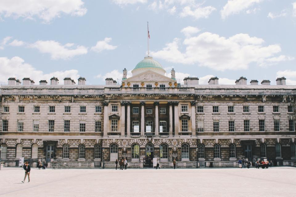 architecture building infrastructure somerset house london people travel