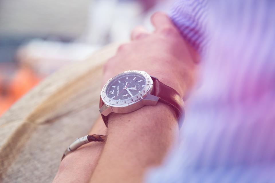hand wrist watch fashion blur