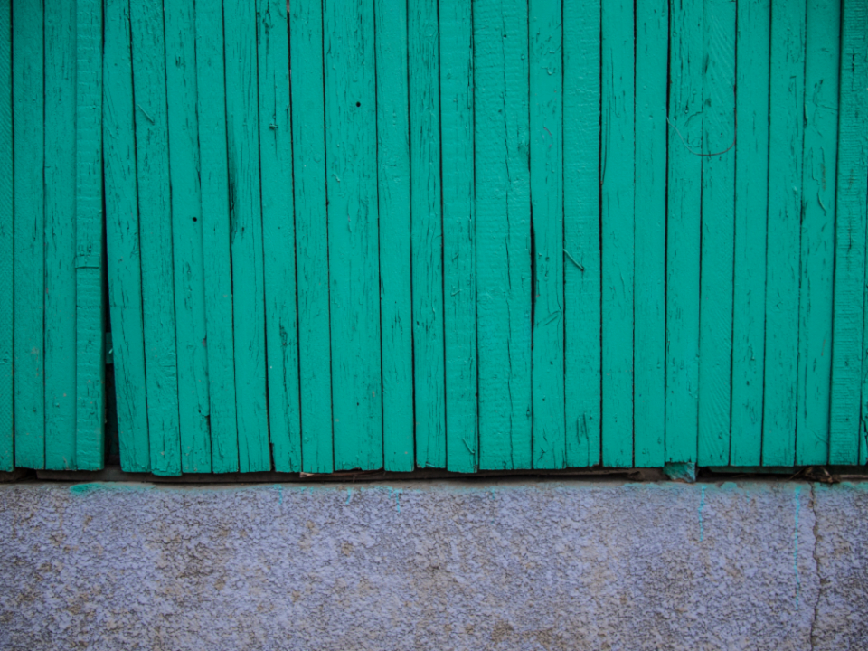 green fence texture