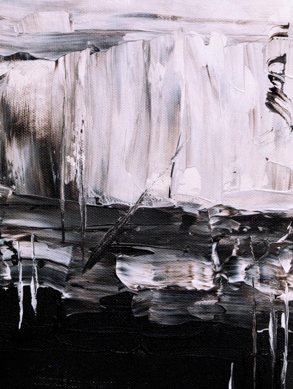 art paint abstract bold acrylic canvas close up artist creative design texture grunge painting artwork black white