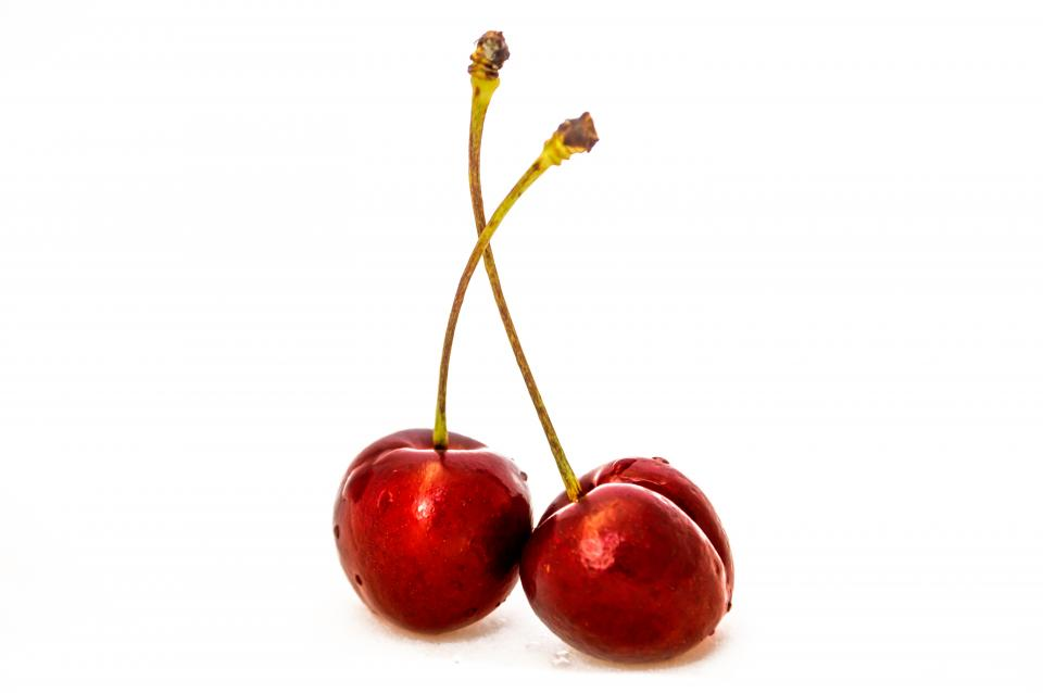 cherry fruit red dessert food sweet eat taste nutritious plant
