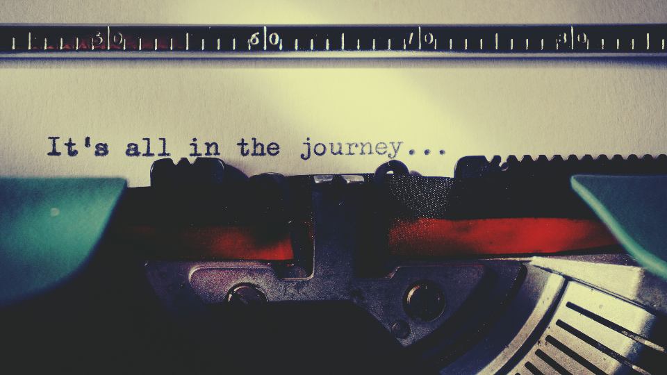 journey typewriter typing text words writing vintage spell letters typography