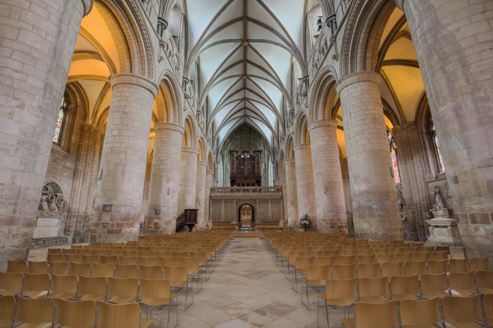 architecture building infrastructure cathedral church interior design chairs