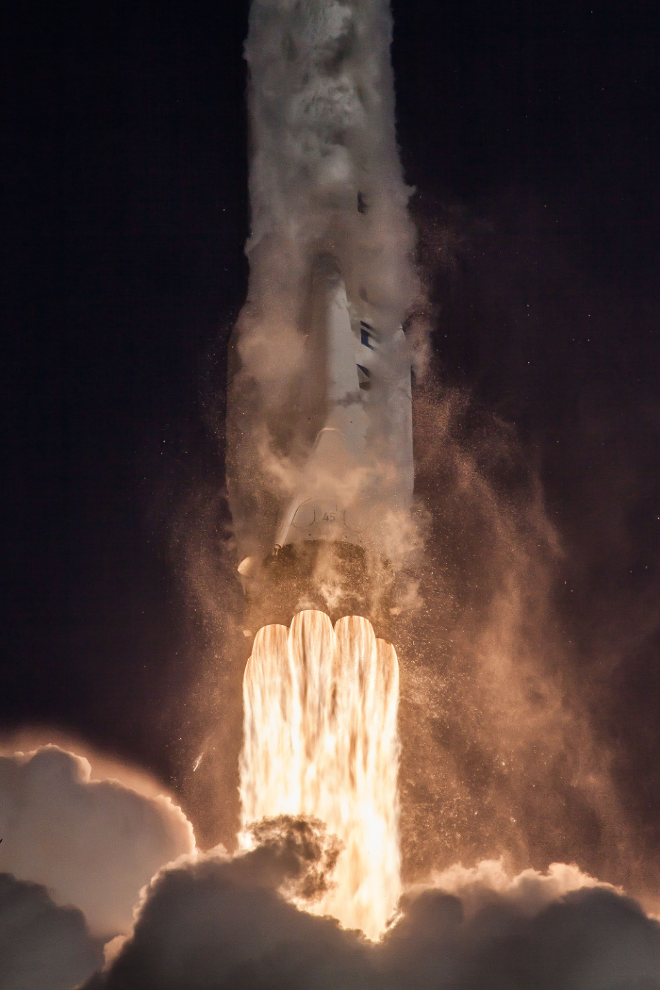 rocket liftoff explore exploration adventure journey space ignition fire flame movement action speed thrust power technology advanced modern science fly flight flying launch spaceship spacex