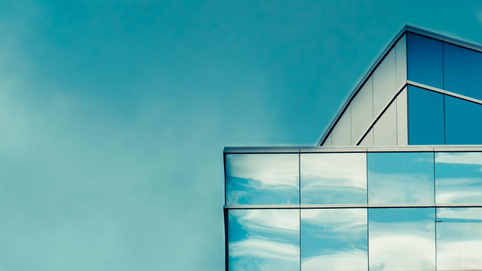 architecture building infrastructure structure establishment apartment windows condominium hotel clouds sky reflection glass