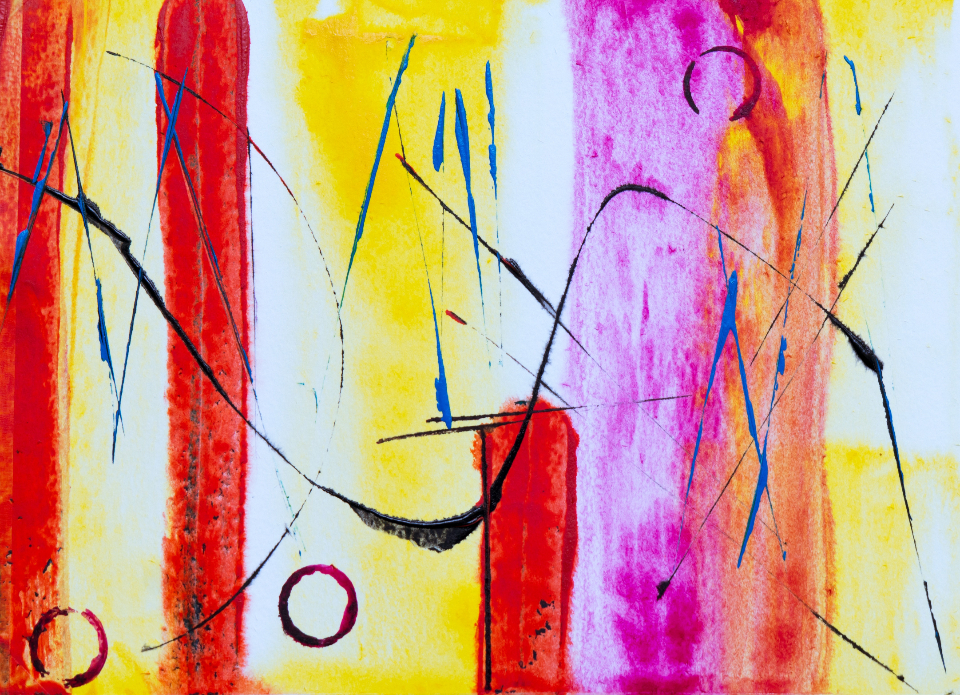 bright abstract painting background colorful art artist creative design paint paintbrush acrylic canvas close up oil watercolor wallpaper