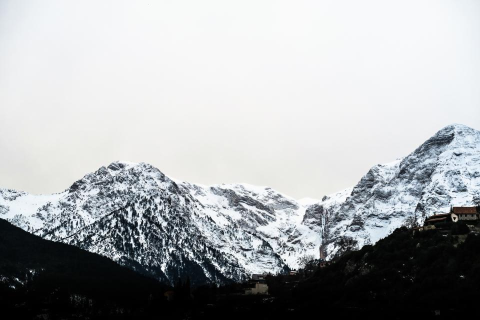 snow winter white cold weather ice nature mountain