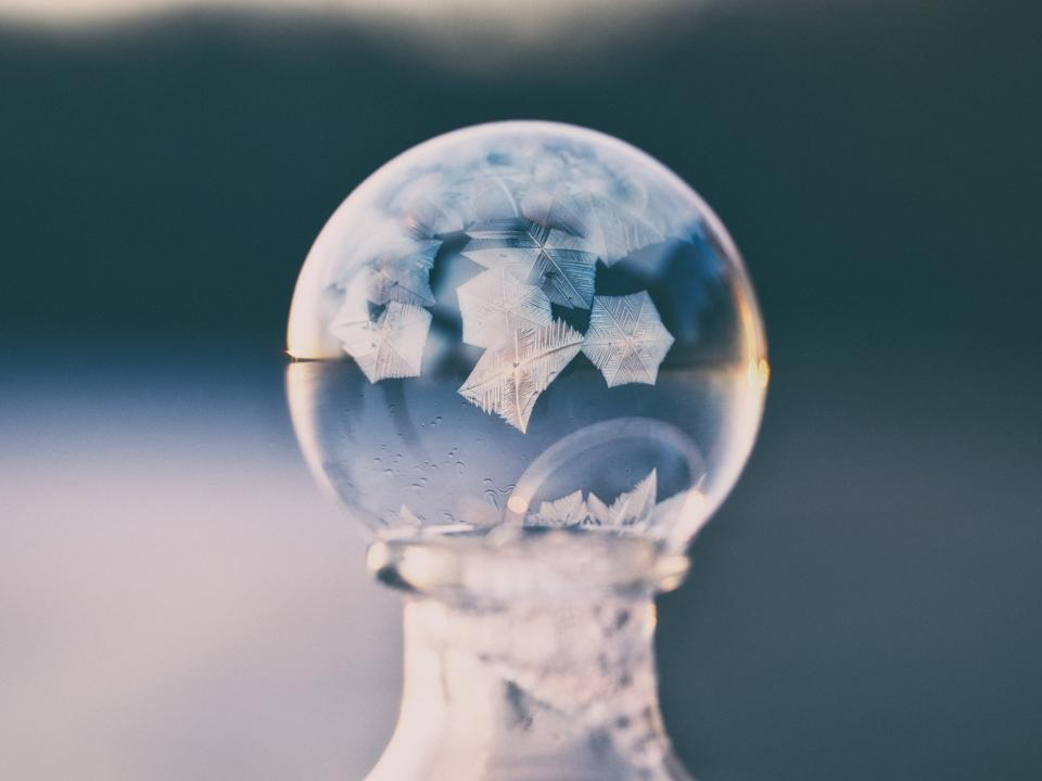 crystal ball blur