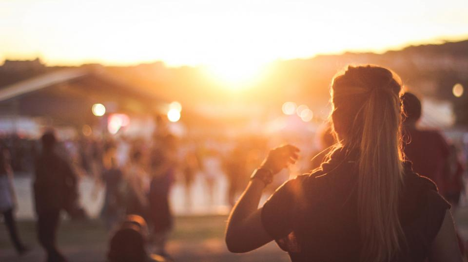 woman girl lady back fashion style people sunrise sunset still bokeh