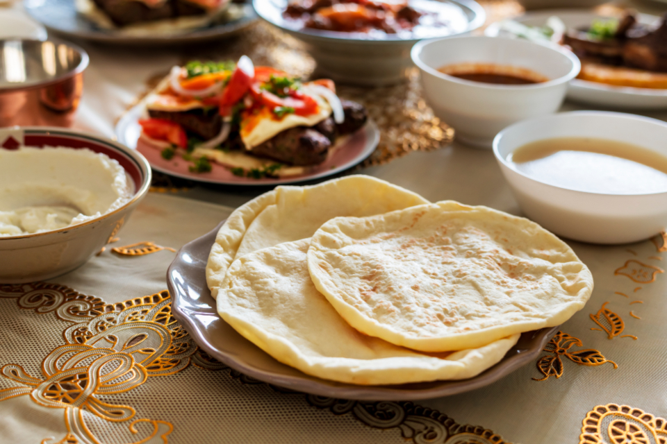 arabic baking cookery cuisine culinary culture delicious dining dinner dinner table dish eat feast feasting flatbread food halal halal food home cooked islam islamic lebanese lunch meal menu middle eastern muslim