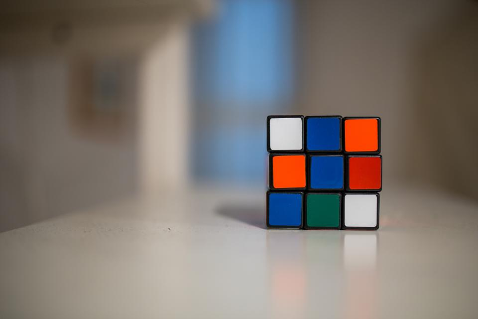 rubiks cube game fun entertainment colors colours objects