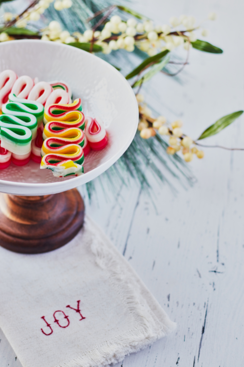 christmas ribbon candy holiday festive background sweets berries sugar food assorted bowl colorful christmas assortment sweet wood rustic