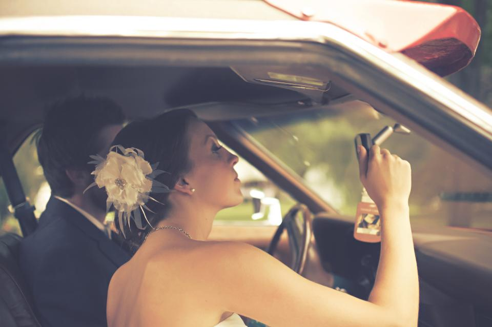bride groom marriage wedding couple love romance man woman people car family