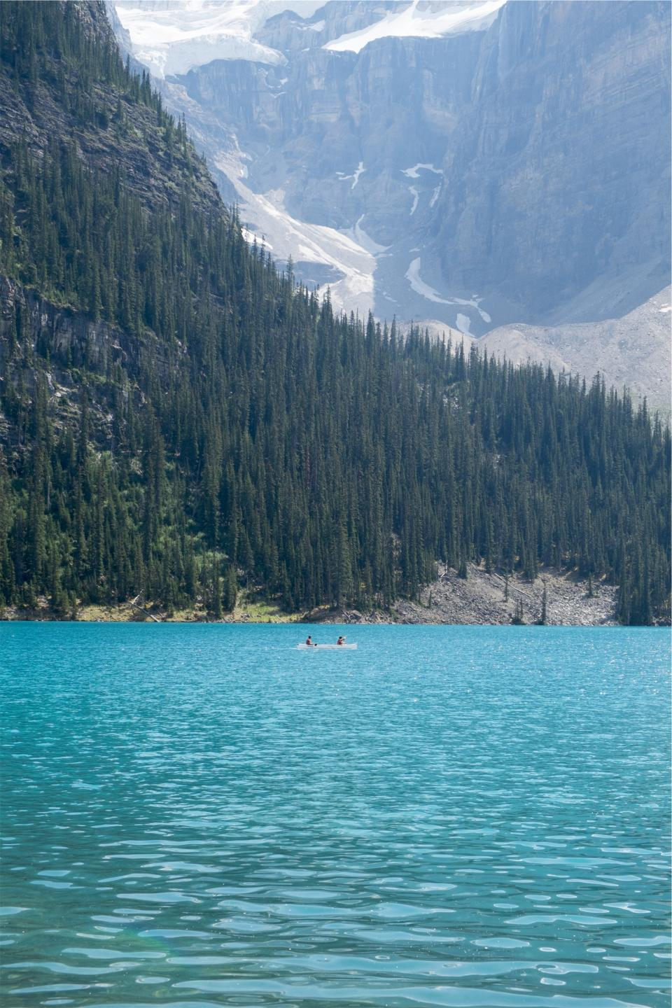 landscape blue lake water trees forest mountains hills cliffs nature