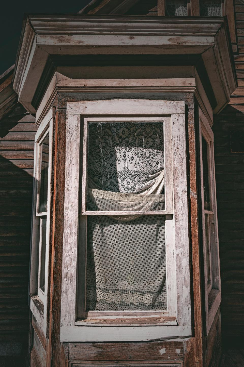 house home window wood curtain old architecture