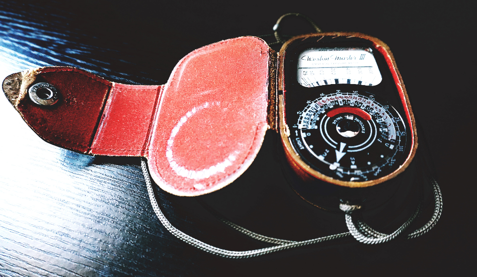 photography light meter vintage weston master