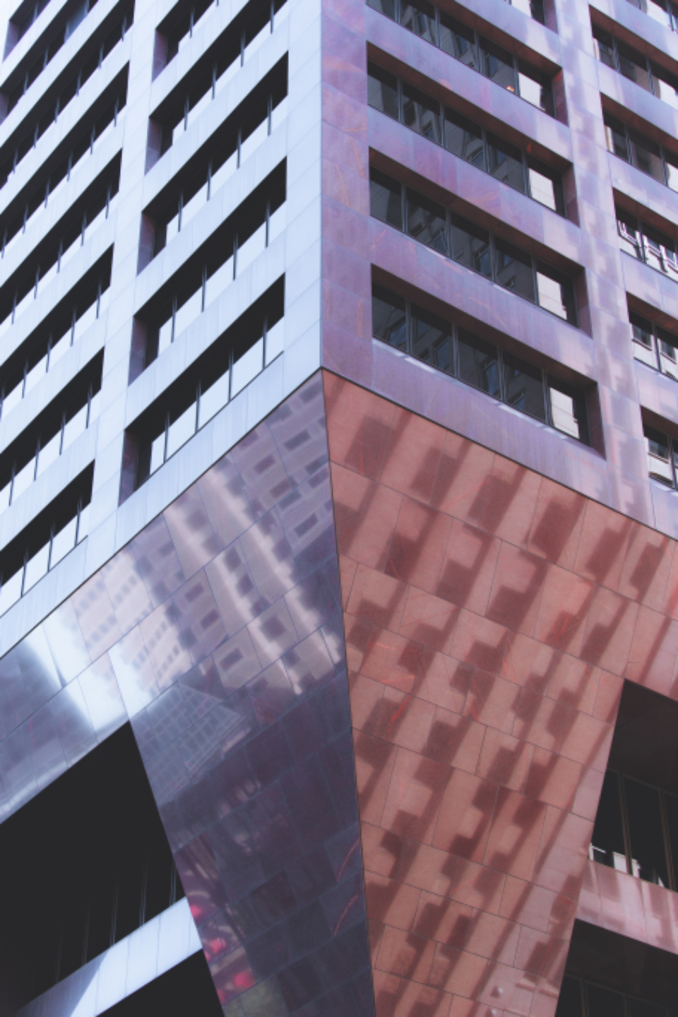 city building pattern abstract structure architecture business windows modern design concrete corner exterior office downtown