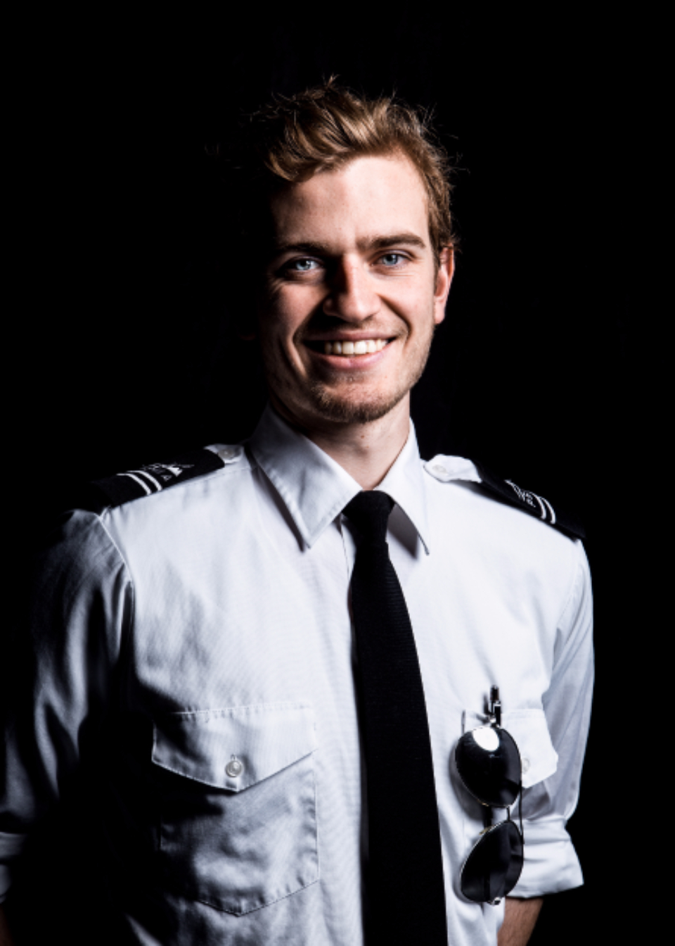 portrait pilot captain uniform male young boy guy person aviation aviators aviator flying fly