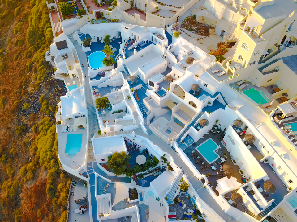 Santorini Greece View